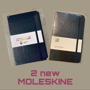 TWO NEW Moleskine Techie Edition